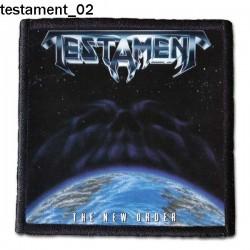 Naszywka Testament 02