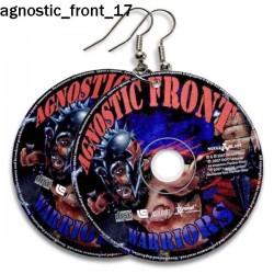 Kolczyki Agnostic Front 17