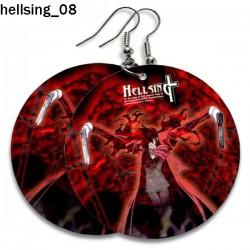 Kolczyki Hellsing 08