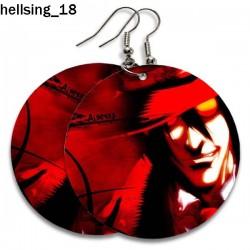 Kolczyki Hellsing 18