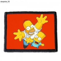 Naszywka Simpsons 02
