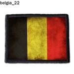 Naszywka Belgia 22