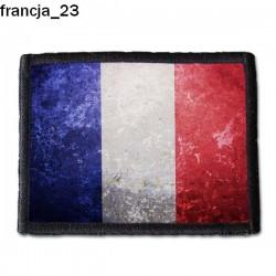 Naszywka Francja 23