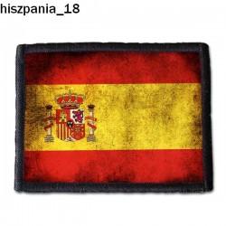 Naszywka Hiszpania 18