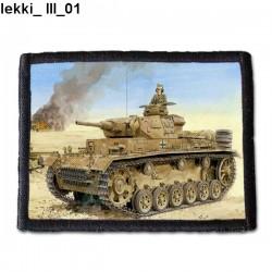 Naszywka Lekki III 01