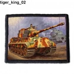 Naszywka Tiger King 02