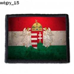 Naszywka Wegry 15