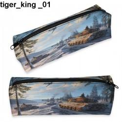 Piórnik czołg Tiger King 01
