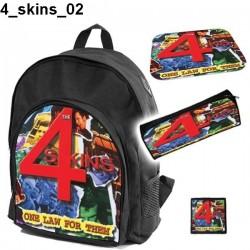 Zestaw szkolny 4 Skins 02