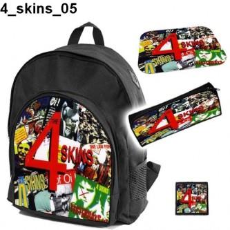Zestaw szkolny 4 Skins 05