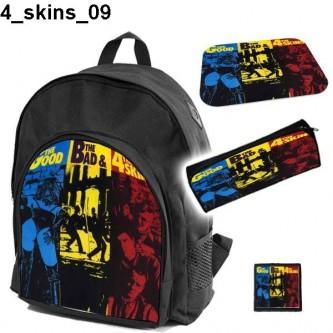 Zestaw szkolny 4 Skins 09