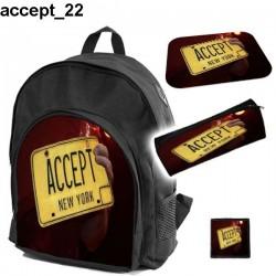 Zestaw szkolny Accept 22
