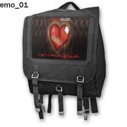 Plecak kostka Emo 01