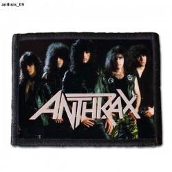 Naszywka Anthrax 09
