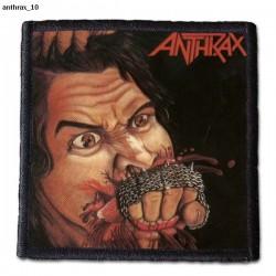 Naszywka Anthrax 10