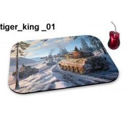 Podkładka pod mysz Tiger King 01