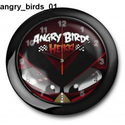 Zegar Angry Birds 01