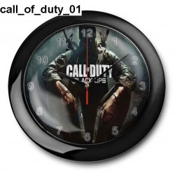 Zegar Call Of Duty 01