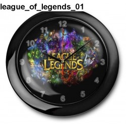 Zegar League Of Legends 01