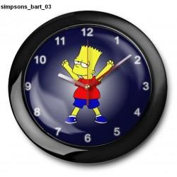 Zegar Simpsons Bart 03