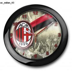Zegar Ac Milan 03