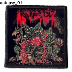 Naszywka Autopsy 01