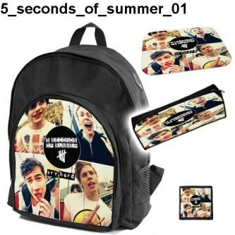 Zestaw szkolny 5 Seconds Of Summer 01