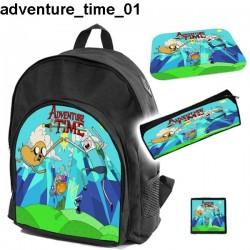 Zestaw szkolny Adventure Time 01