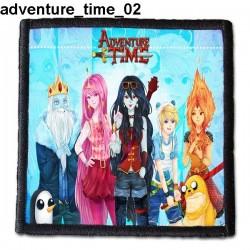 Naszywka Adventure Time 02