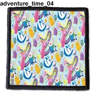 Naszywka Adventure Time 04