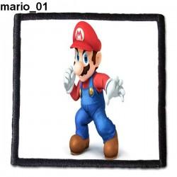 Naszywka Super Mario Bros 01