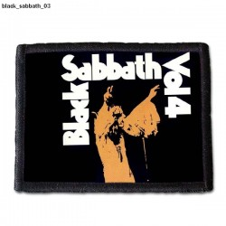 Naszywka Black Sabbath 03