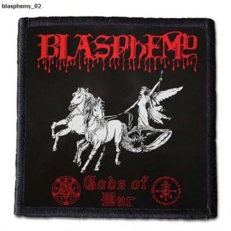 Naszywka Blasphemy 02