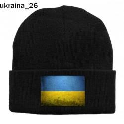 Czapka zimowa Ukraina 26