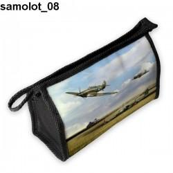 Piórnik, kosmetyczka Samolot 08