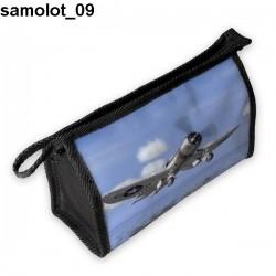 Piórnik, kosmetyczka Samolot 09