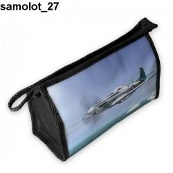 Piórnik, kosmetyczka Samolot 27