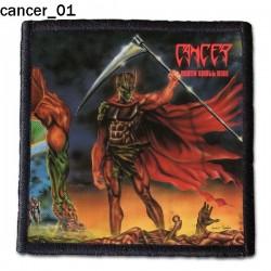 Naszywka Cancer 01