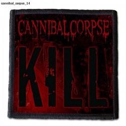 Naszywka Cannibal Corpse 14