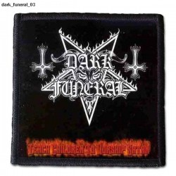 Naszywka Dark Funeral 03