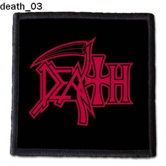 Naszywka Death 03