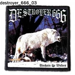 Naszywka Destroyer 666 03