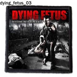 Naszywka Dying Fetus 03