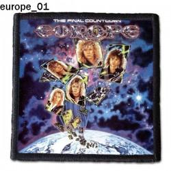 Naszywka Europe 01