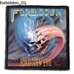 Naszywka Forbidden 01