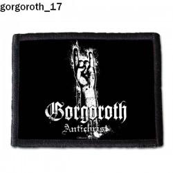 Naszywka Gorgoroth 17