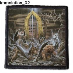 Naszywka Immolation 02