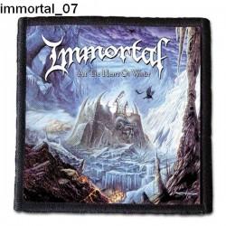 Naszywka Immortal 07