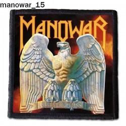 Naszywka Manowar 15