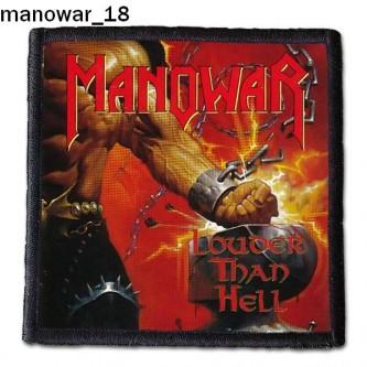Naszywka Manowar 18